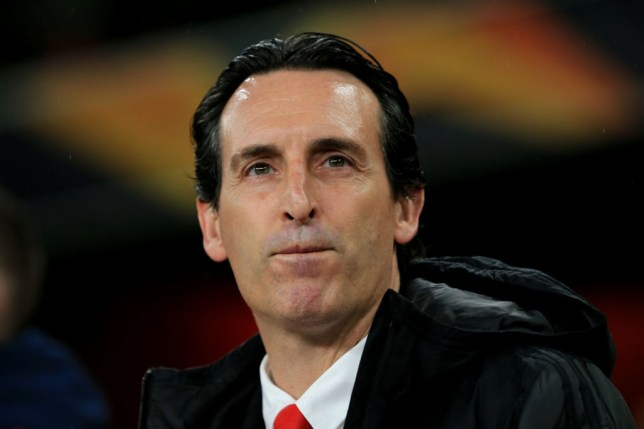 Former Arsenal Manager Unai Emery