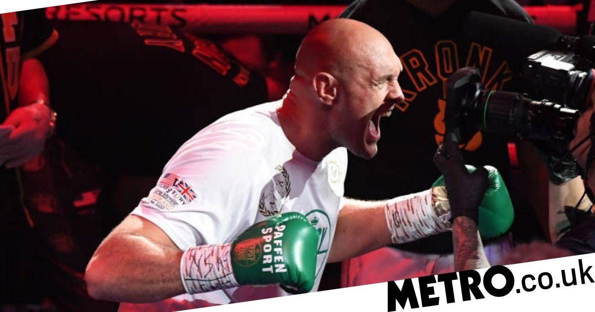 Eddie Hearn reacts to Tyson Fury glove tampering conspiracy theory