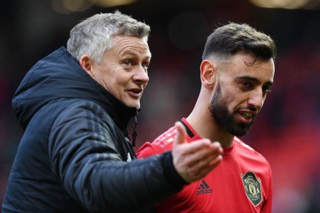 Ole Gunnar Solskjaer has been told to build his Manchester United team around Bruno Fernandes