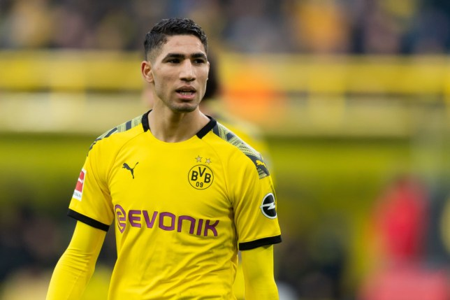 Chelsea are in the race to sign Achraf Hakimi from Real Madrid