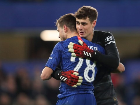 Frank Lampard praises Kepa Arrizabalaga after return to Chelsea side in Liverpool win