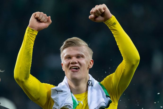 GettyImages 1205690197 Transfer battle with Man Utd and Real Madrid for  Erling Haaland