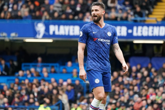 Olivier Giroud is willing to stay at Chelsea (Picture: Getty)