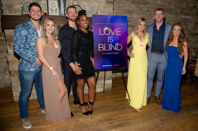 The Love Is Blind cast