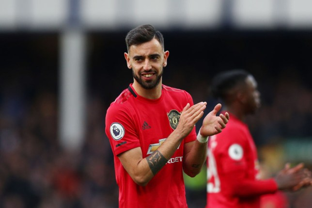 Bruno Fernandes scored for the third consecutive game against Everton