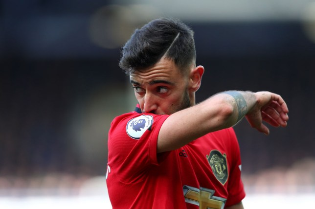 Bruno Fernandes joined Manchester United in January