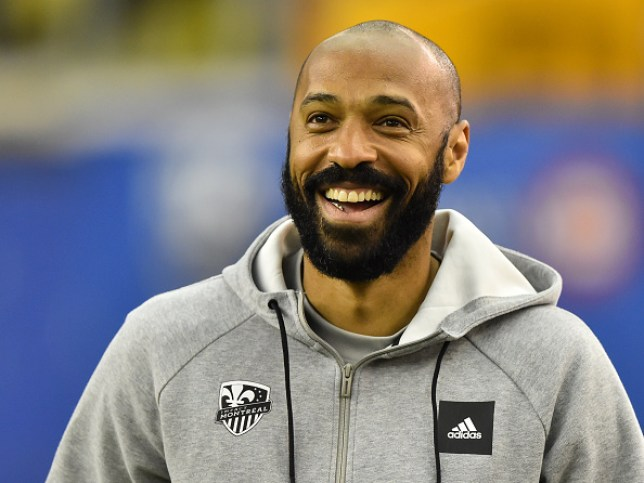 Montreal Impact head coach Thierry Henry l