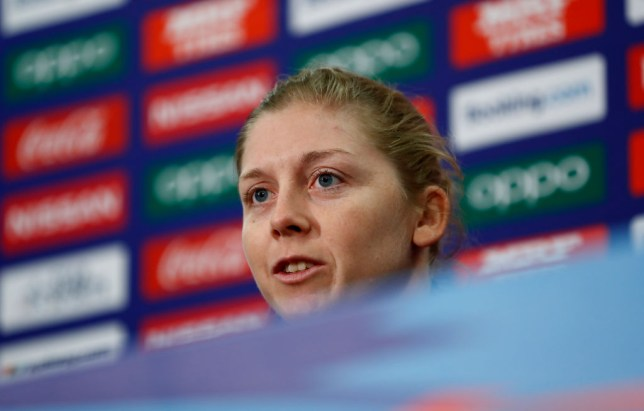 England cricket captain Heather Knight has signed up to be a NHS volunteer