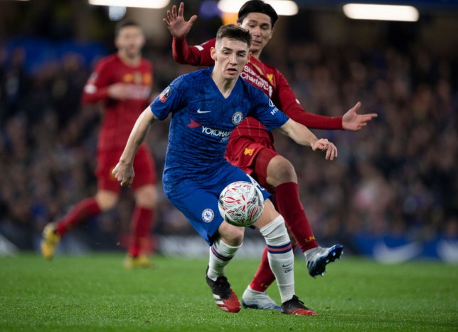 Billy Gilmour produced an outstanding display for Chelsea against Liverpool in the FA Cup