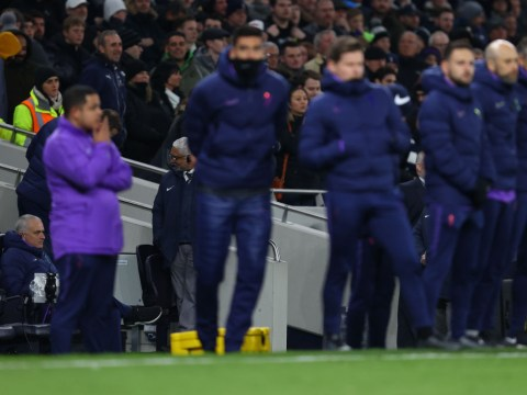 Jose Mourinho isolates himself in Tottenham dugout during FA Cup shootout defeat to Norwich