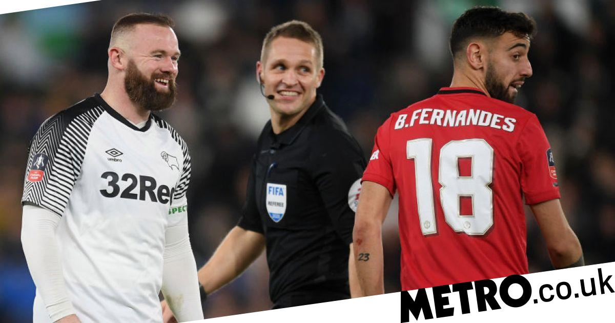What Wayne Rooney told Man Utd stars about Bruno Fernandes after FA Cup clash