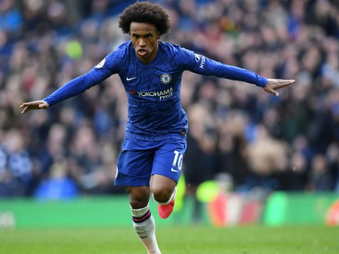 Chelsea star Willian waiting to see if Arsenal or Tottenham qualify for Champions League to make transfer decision