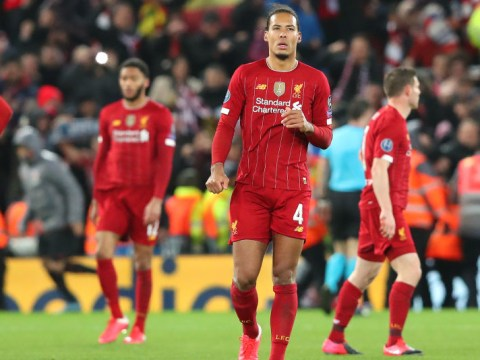 Virgil van Dijk suggests Liverpool's mentality was not right for Atletico Madrid game