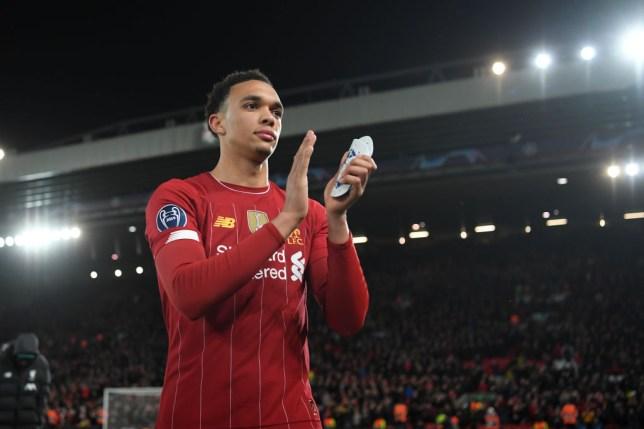 Liverpool defender Trent Alexander- Arnold