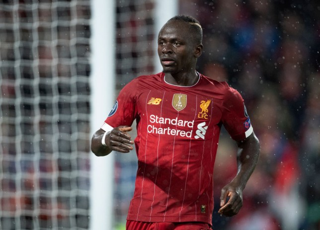 LIVERPOOL, ENGLAND - MARCH 11: Sadio Mane of Liverpool during the UEFA Champions League round of 16 second leg match between Liverpool FC and Atletico Madrid at Anfield on March 11, 2020 in Liverpool, United Kingdom.  (Photo by Visionhaus)