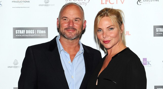 Mark and Samantha Womack in 2014.