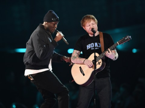 Stormzy and Ed Sheeran engineer on misconception about hit songs: 'I'm not driving a Ferrari'