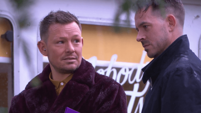 Darren and Kyle in Hollyoaks