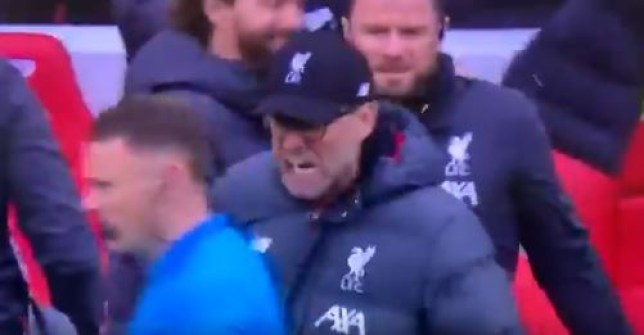 Jurgen Klopp celebrated in the assistant referee's face as Liverpool beat Bournemouth