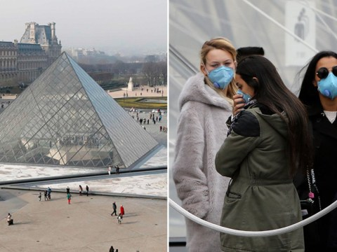 Louvre Museum in Paris closes amid coronavirus fears