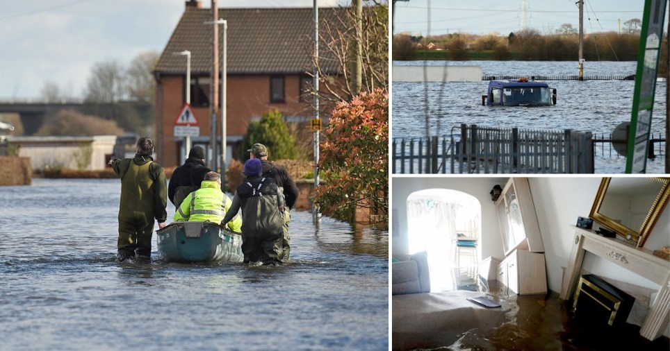 Homes remain flooded after Storm Jorge with 82 flood warnings still in place for England, Wales and Scotland