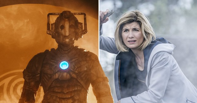 Image stills from Doctor Who series 12 finale, The Timeless Children