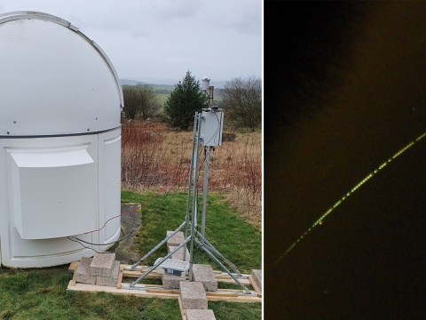 Scientists set up 'Fireball' camera network to track and retrieve UK meteorites