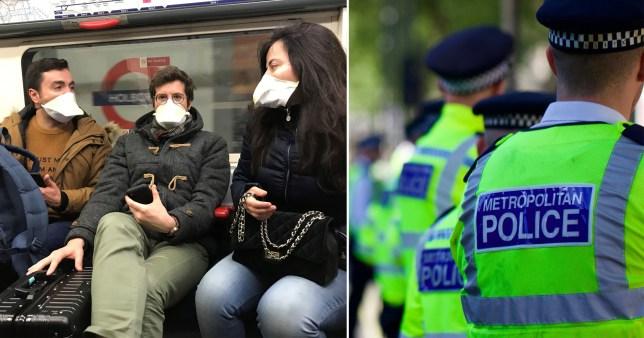 Police forces coronavirus