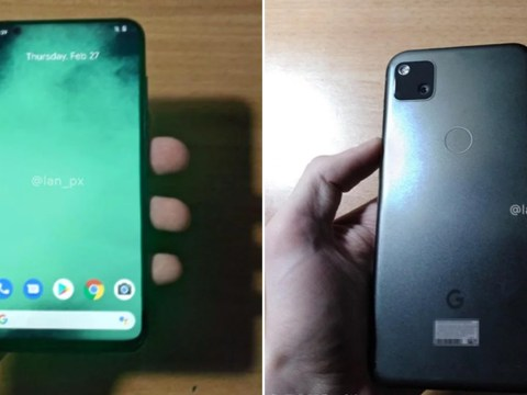 Google's next Pixel phone allegedly revealed in leaked pictures