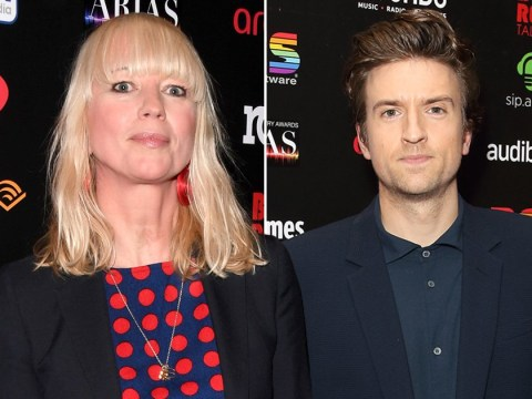 Sara Cox is all about polka dots as she leads ARIAS Awards 2020 red carpet with Greg James