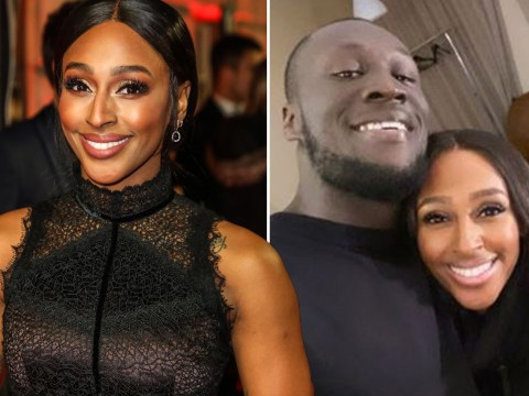 Stormzy hangs out with Alexandra Burke backstage and fans demand a collaboration