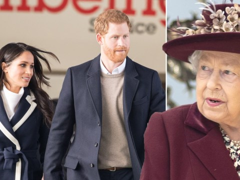 Harry emerges from second chat with Queen ahead of Meghan's UK return