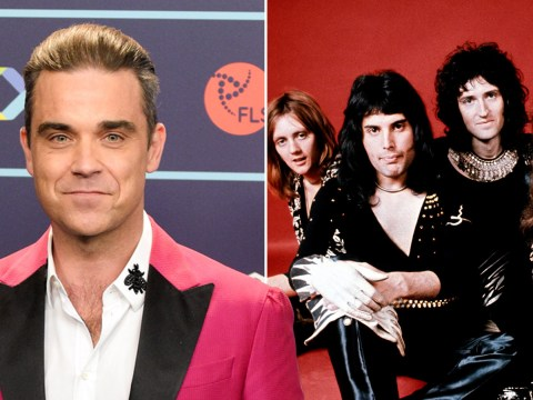 Robbie Williams rejected offer to front Queen because of his 'low self-esteem'