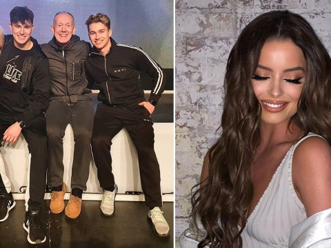 Curtis Pritchard responds to Maura Higgins's salty Instagram post with clapback of his own after split