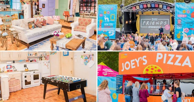 Four pictures from Friendsfest.