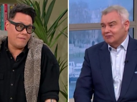 Eamonn Holmes squirms as Gok Wan 'snuggles' him amid coronavirus fears: 'We've contracted love'