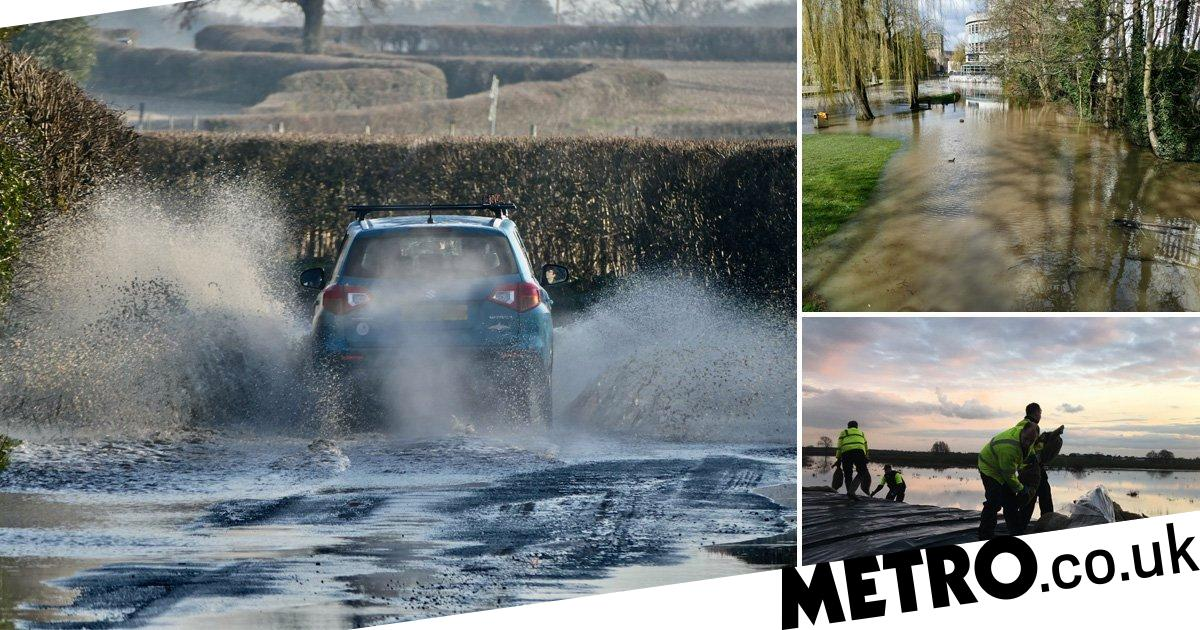 Met Office weekend weather forecast says it's going to be wet and wild again | Metro News