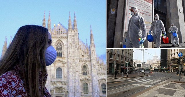 The entire Lombardy region including Milan is will be on lockdown for three weeks in a battle against coronavirus