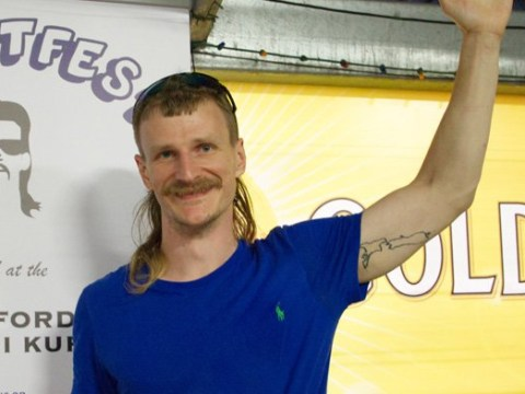 British man makes the country proud by winning the world's best mullet haircut contest