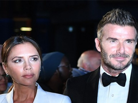 David and Victoria Beckham look incredibly loved up as they party at son Brooklyn's 21st birthday