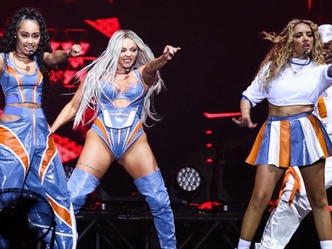 Little Mix put on a show in Brazil without Perrie Edwards as singer pulls out due to illness