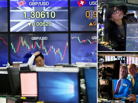 Stock markets begin to recover after Black Monday crash