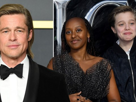 Brad Pitt 'skipped Baftas to be with daughters after their surgery'