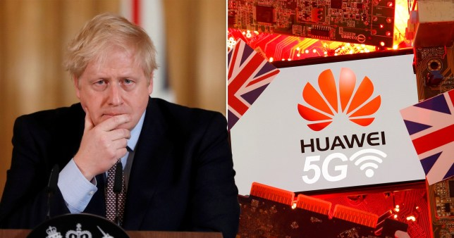 There has been criticism of the plan to allow Huawei to supply parts of the network because of security fears.