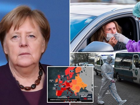 Coronavirus swarms across Europe as Merkel warns 70% could be infected