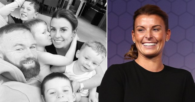Coleen Rooney shares family photo with husband Wayne and their four children, Kit Rooney, Kai Rooney, Klay Rooney and Cass Rooney