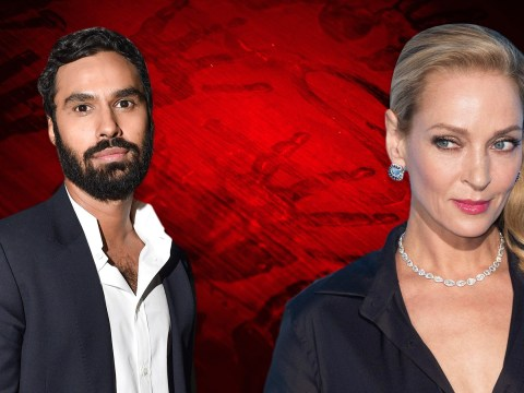 Kunal Nayyar joins forces with Uma Thurman for new thriller in first major role since Big Bang Theory