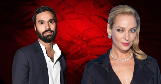 Caption: Big Bang Theory\'s Kunal Nayyar joins Uma Thurman for new Apple TV thriller Picture: Getty
