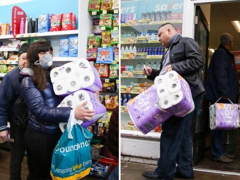 London shopper mugged for toilet paper as coronavirus panic leaves shelves ransacked