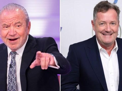 Piers Morgan blocks Alan Sugar while locking horns over coronavirus